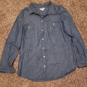 Old Navy Blue Jean Button Down